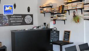Comptoir crêperie artisanale bretonne